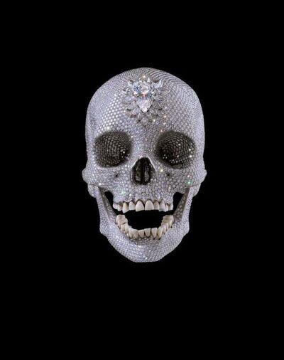 Damien Hirst, 'For the Love of God - Print - DIAMOND DUST - Wonder'
