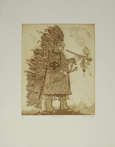 Simon Dittrich, 'Indianer / Indian', 1978