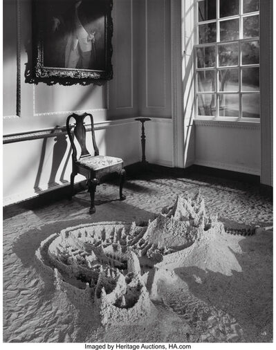 Jerry Uelsmann, 'Untitled (Sand castle)', 1990