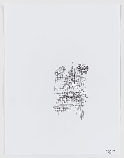 "Seth Price, 'Cover Sketch for ""Was ist Los""', 2010"