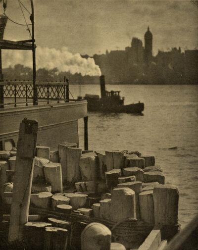 Alfred Stieglitz, 'The City across the River', 1910