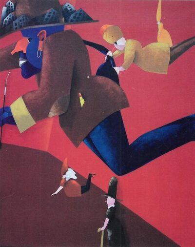 Emilio Tadini, 'Fiaba', 2001