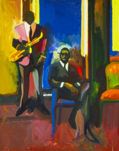 James Weeks, 'Two Musicians', 1960
