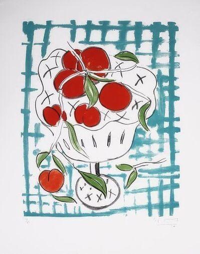 Stefan Szczesny, 'Peach Still Life'