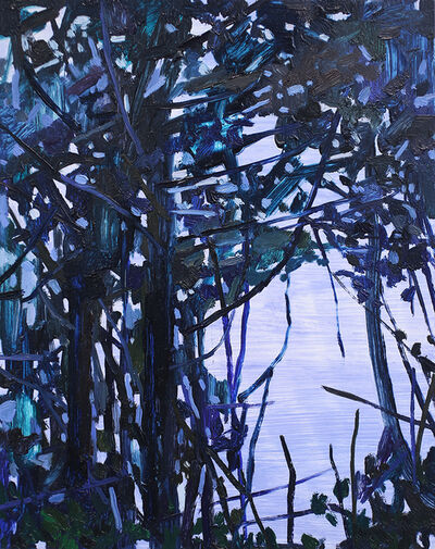 Claire Sherman, 'Trees and Water', 2017