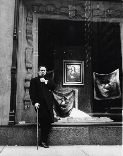 Peter Basch, 'Salvador Dali in Front of Saks Fifth Avenue', 1965