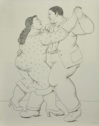 Fernando Botero, 'Dancers', 2014