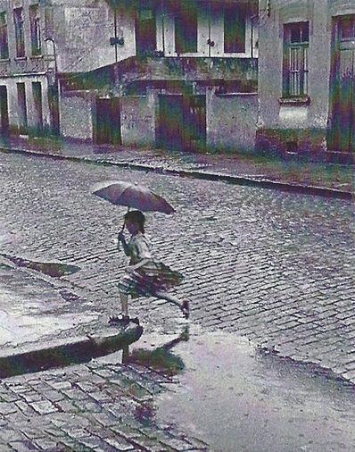 German Lorca, 'Menina en Chuva', 1952/1980