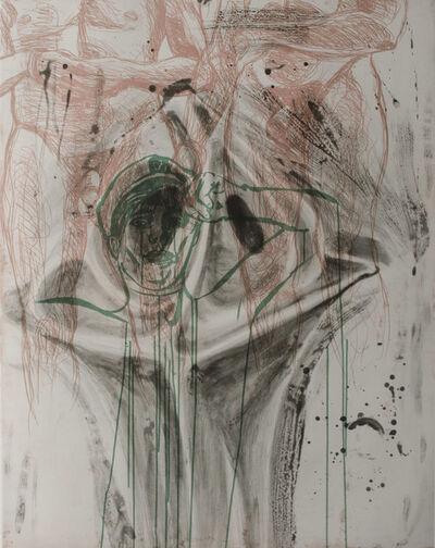 David Salle, 'Grandiose Synonym for Church', 1985