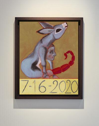 Francesco Clemente, '7/16/2020', 2020