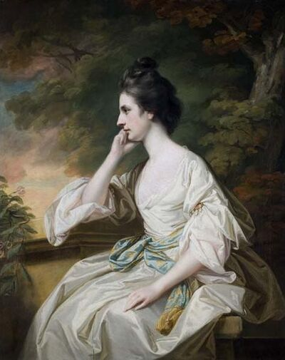 Francis Cotes, 'Portrait of Miss Anne Dutton', Mid-18th century