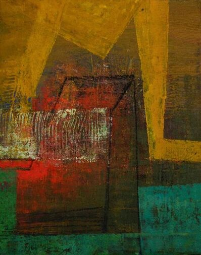 """Rajib Bhattacharjee, 'Melody of Spaces, Acrylic & Charcoal on Archival Paper by Contemporary Artist """"In Stock""""', 2015-2021"""