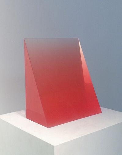 Peter Alexander, '7/15/15 (Red Wedge)'