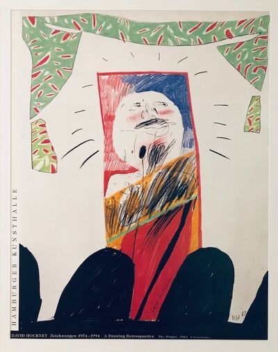 David Hockney, 'The Singer, 1963', 1994