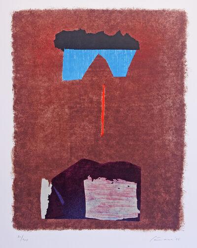 Giuseppe Santomaso, 'Verso la Mecca', 1986