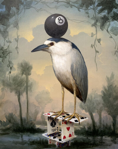 Kevin Sloan, 'Eight Ball Fascinator', 2020