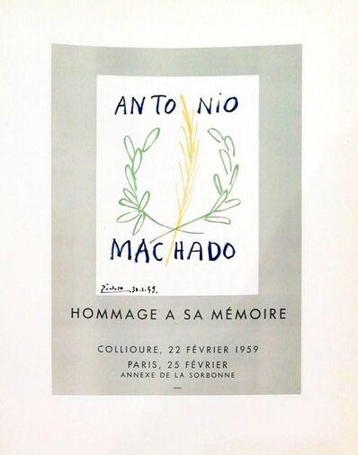 Pablo Picasso, 'Hommage Antonio Machado', 1959