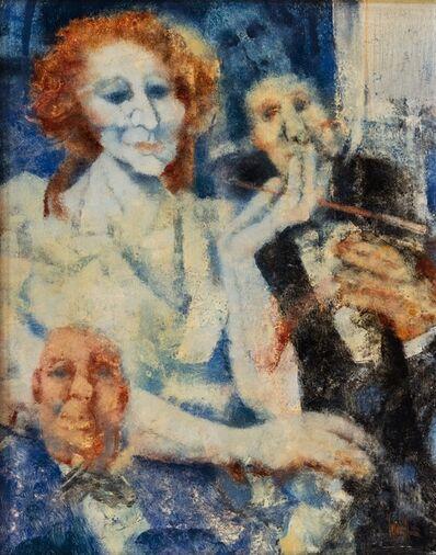 Remo Squillantini, 'Madame', 1986