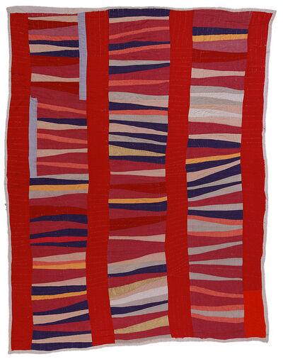 Jessie T. Pettway, 'Bars and String-Pieced Columns', ca. 1950
