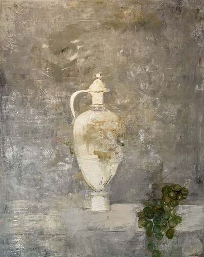Ġoxwa, 'Vase and Grapes', 2018