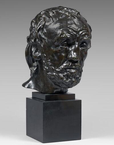 Auguste Rodin, 'Tête de l'homme au nez cassé, version dite type II, premier modèle'