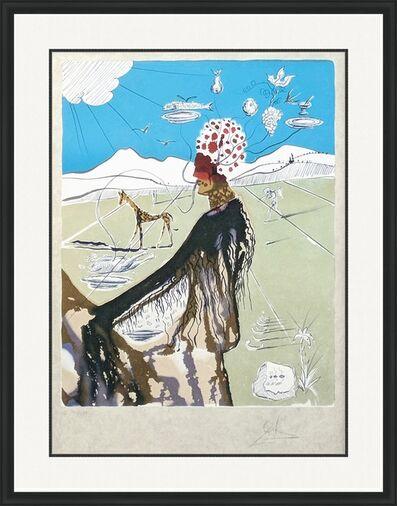Salvador Dalí, 'THE EARTH GODDESS (THE CHEF)', 1980