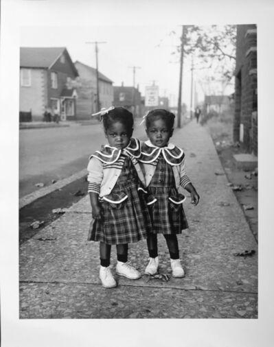 Art Shay, 'Brooklyn Twins, 1952, For Ebony Magazine in Brooklyn, Illinois', ca. 2016