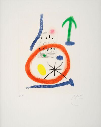 Joan Miró, 'Chemin de Ronde III', 1966