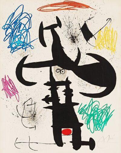 Joan Miró, 'Le Souffre Douleur', 1970