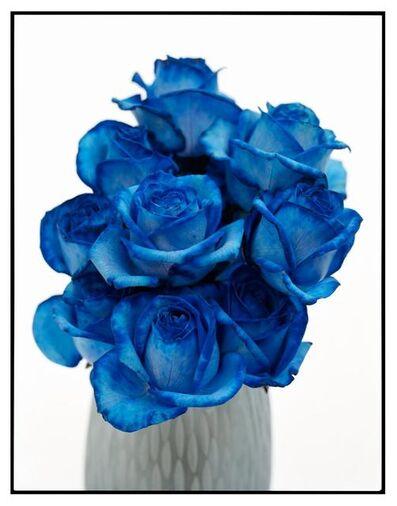 David Bailey, 'Blue Flowers', ca. 2008