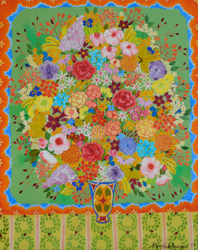 Hepzibah Swinford, 'Wild Roses', 2017