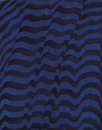 Hannah Knox, 'Long Sleeved Deep Blue T-Shirt', 2021