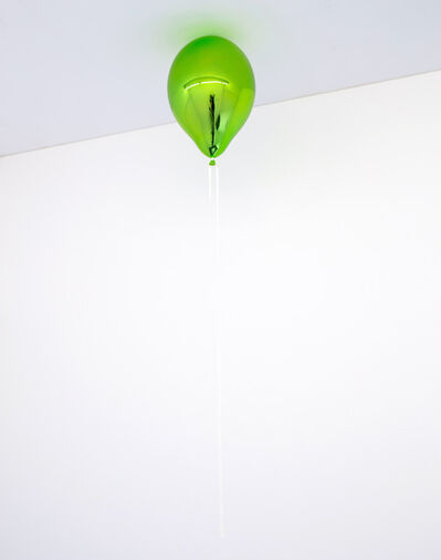 Jeppe Hein, 'One Wish for You (dark may green)', 2020