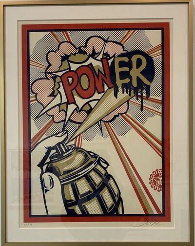 Shepard Fairey, 'POWer', 2010