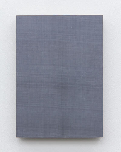 Timo Kube, 'Untitled silk (in grey) #4', 2015