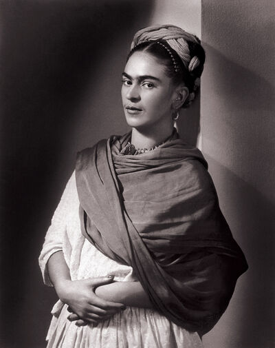 Nickolas Muray, 'Frida Kahlo, The Breton Portrait', 1939