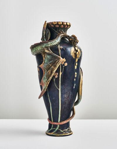 Paul Dachsel, 'Dragon Vase', 1897-1900