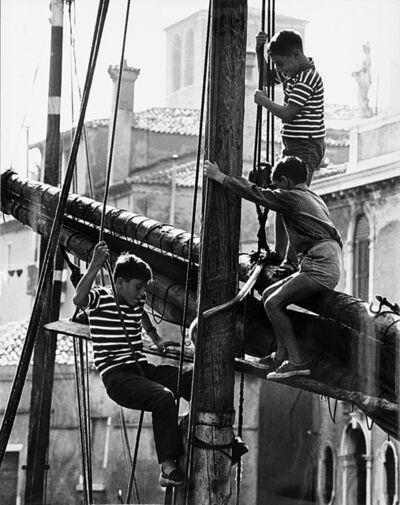 Fulvio Roiter, 'Senza titolo (Bambini)', anni 1950