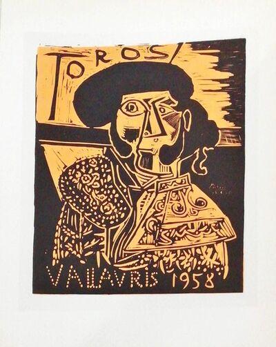 Pablo Picasso, 'Toros 1958 - Figure', 1959