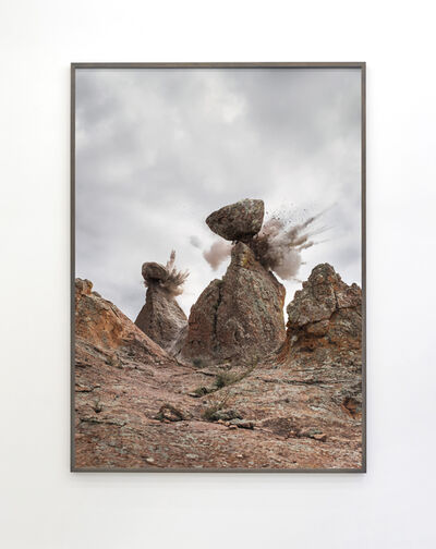 Julian Charrière & Julius von Bismarck, 'Canyonlands, We Must Ask You to Leave (vertical viewpoint)', 2018