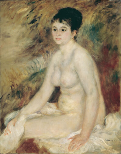 Pierre-Auguste Renoir, 'After the Bath', 1876
