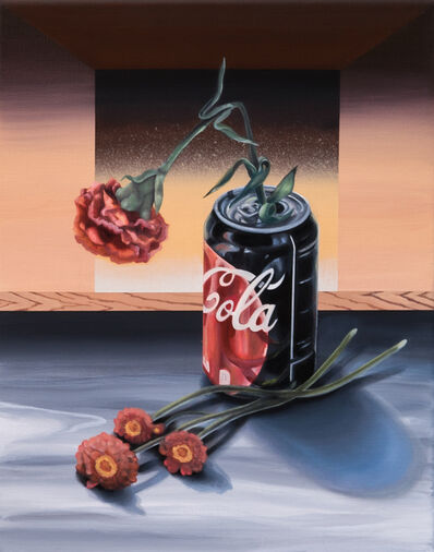 Alannah Farrell, 'Mulberry Street (Coke and Flowers)', 2019
