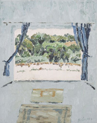 Mia Chaplin, 'View from my Studio Evoramonte, Portugal', 2016