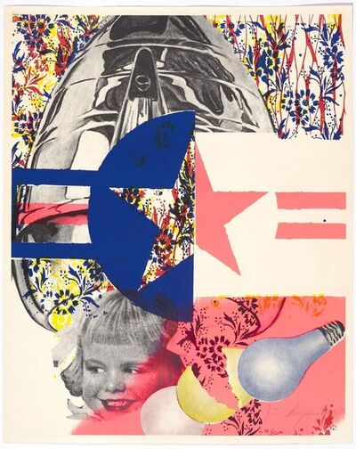 James Rosenquist, 'F-111 (Castelli Gallery Poster)', 1965