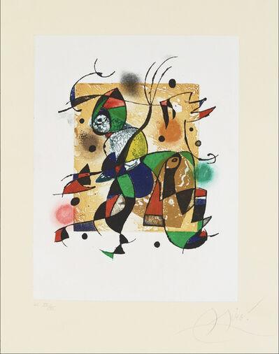 Joan Miró, 'Gaudi XVI', 1972