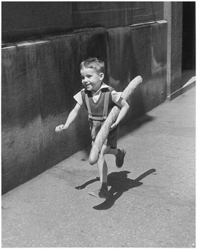 Willy Ronis, 'Le petit parisien Paris', 1952
