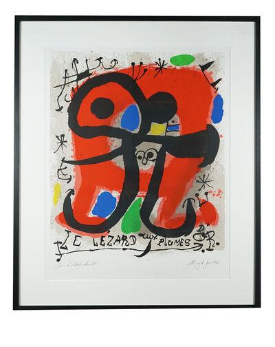 Joan Miró, 'Le Lézard aux plumes d'or, Hommage à Fernand Mourlot', 1990