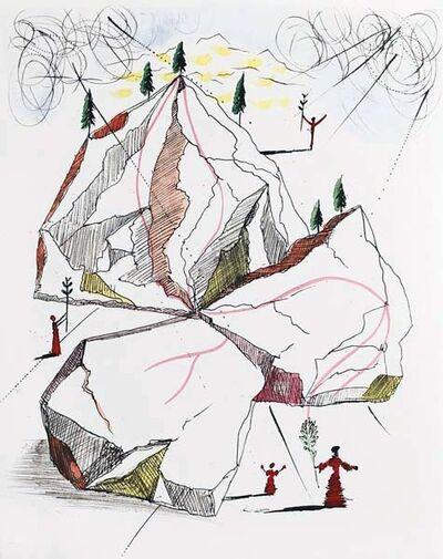Salvador Dalí, 'Montagne de la paix (Mountain of peace)', 1967