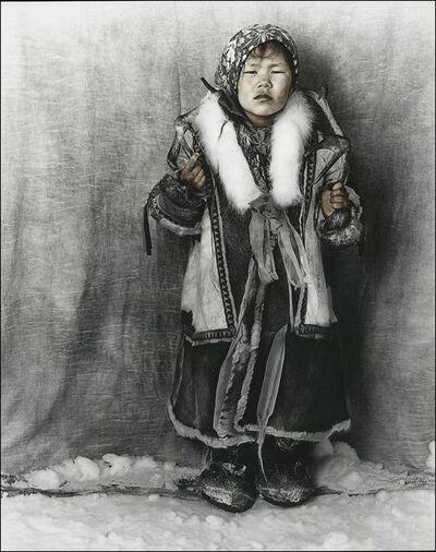 Jan C. Schlegel, 'Nennt girl of Yamal, northern Siberia', 2019