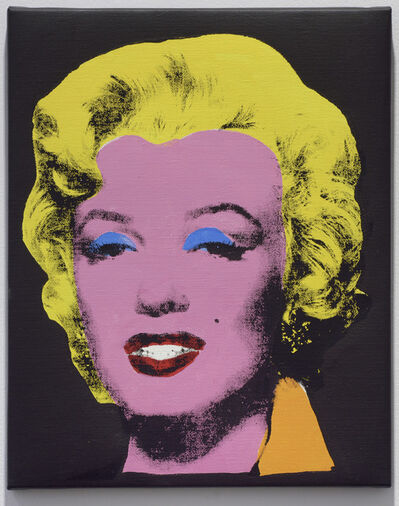 Sturtevant, 'Warhol Licorice Marylin', 2004